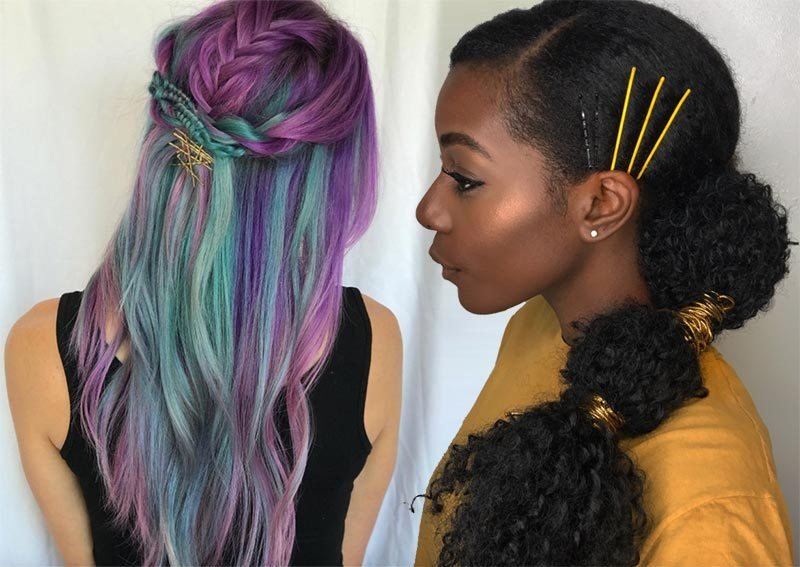 The Best 41 Exposed Bobby Pin Hairstyles How To Use Bobby Pins Pictures