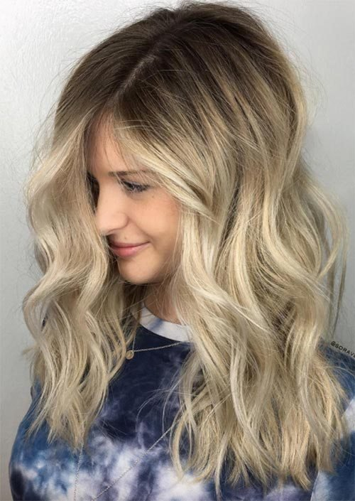 The Best 51 Medium Hairstyles Shoulder Length Haircuts For Women In 2019 Glowsly Pictures