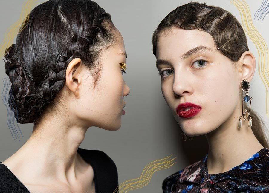 The Best Fall Winter 2018 2019 Hairstyle Trends Fall 2018 Runway Hair Glowsly Pictures