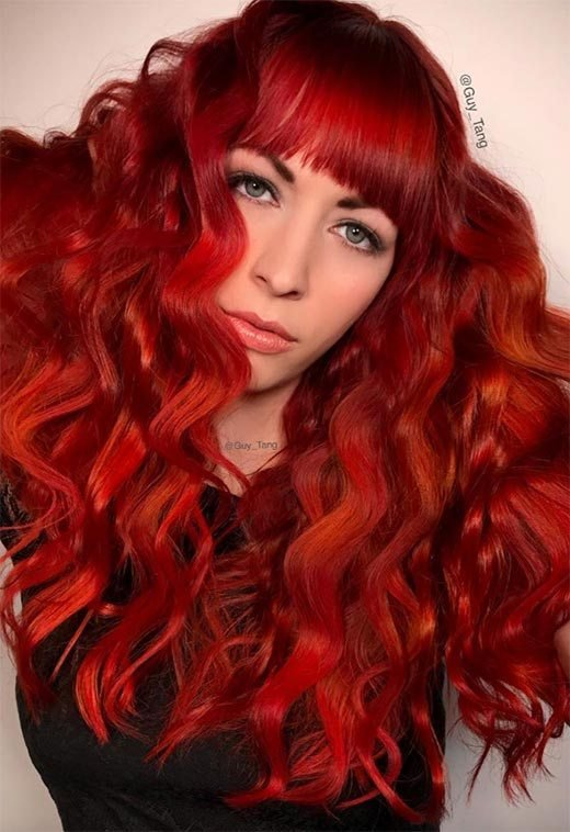 The Best 63 Hot Red Hair Color Shades To Dye For Red Hair Dye Tips Pictures