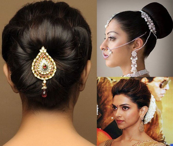 The Best 10 Indian Bridal Hairstyles For Long Hair Pictures