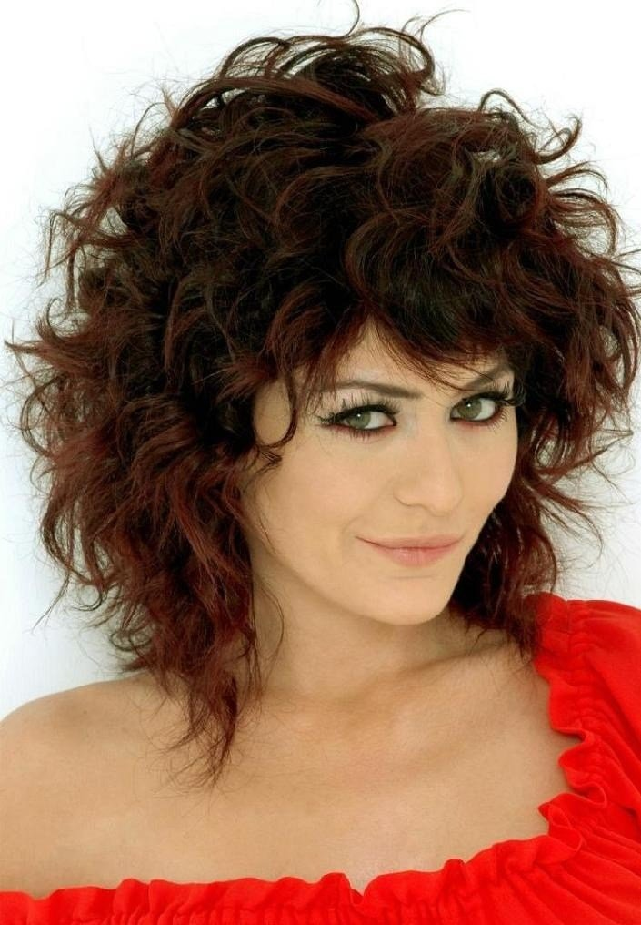 The Best Medium Length Curly Hair Styles 03 Curly Hairstyles For Girl Pictures