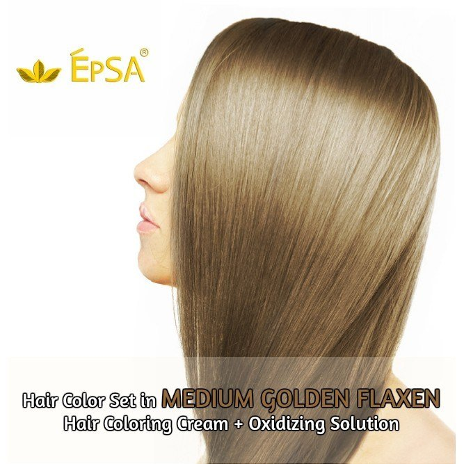 The Best Medium Golden Flaxen Hair Color Set Shopee Philippines Pictures