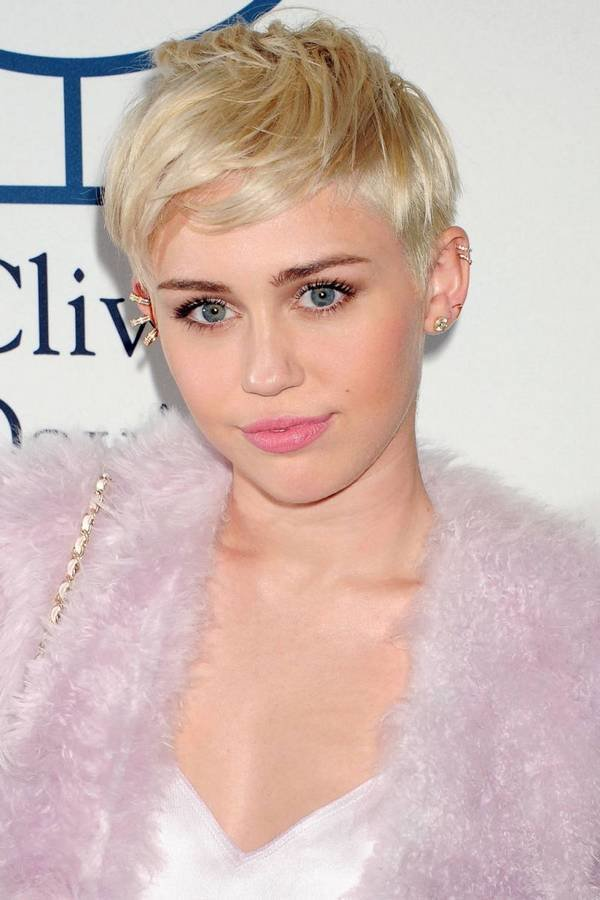 The Best Celebrity Hairstyles Miley Cyrus Haircut 2015 90S Pictures