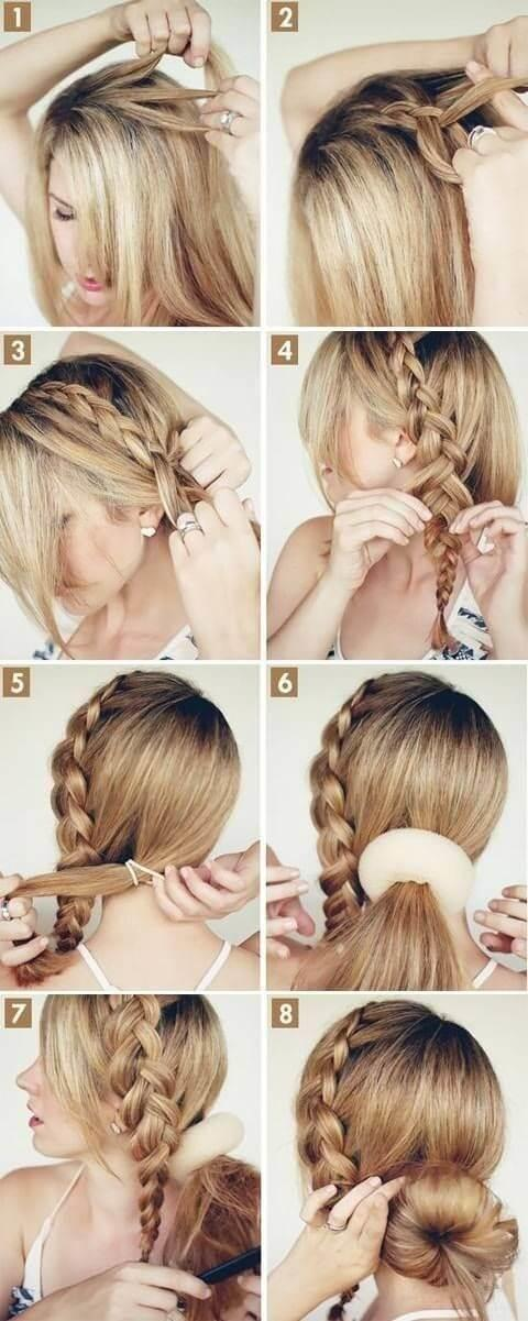 The Best 10 Step By Step Side Bun Hairstyles Tutorials You Will Love Pictures