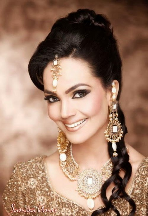 The Best Pakistani Wedding Hairstyles Pictures For Brides Pictures