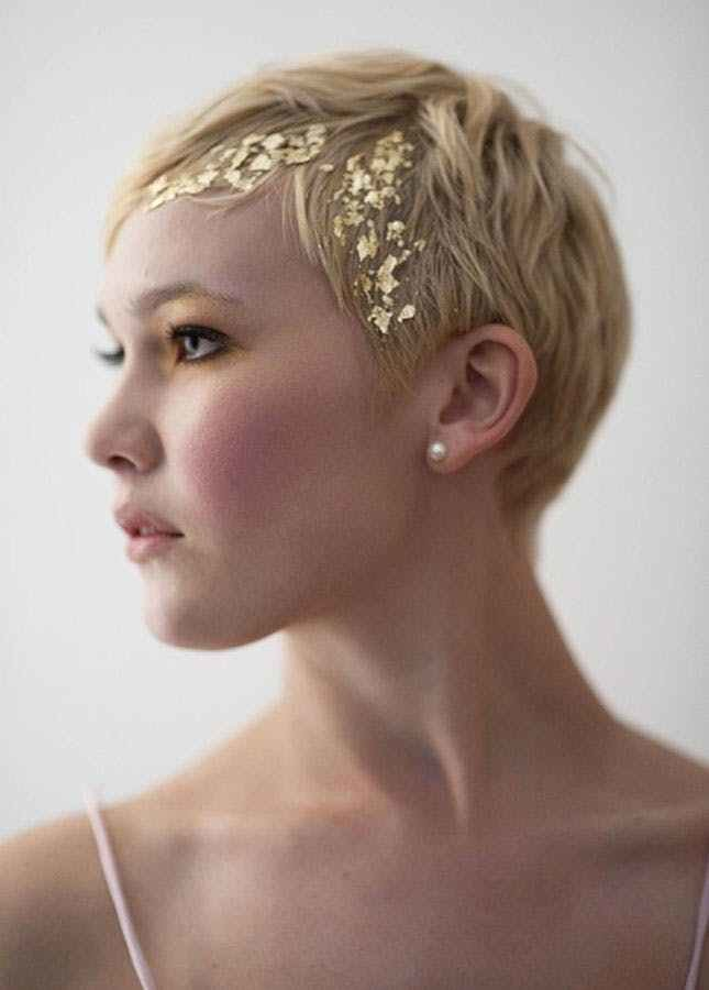 The Best 25 Wedding Hairstyles For Short Hair Brit Co Pictures