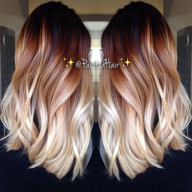 The Best Spiced Amber Hair Color 83558 10 Two Tone Hair Colour Pictures