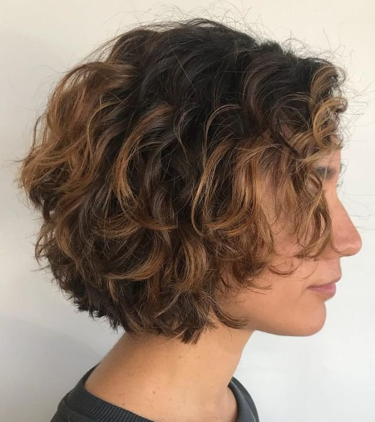 The Best 60 Most Delightful Short Wavy Hairstyles Hair Styles Curly Bob Hairstyles Curly Hair Styles Pictures