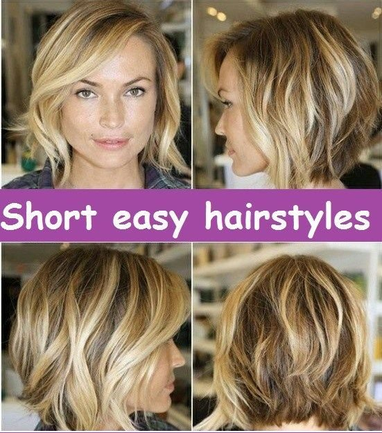 The Best Short Easy Hairstyles Images Collection Related Pictures
