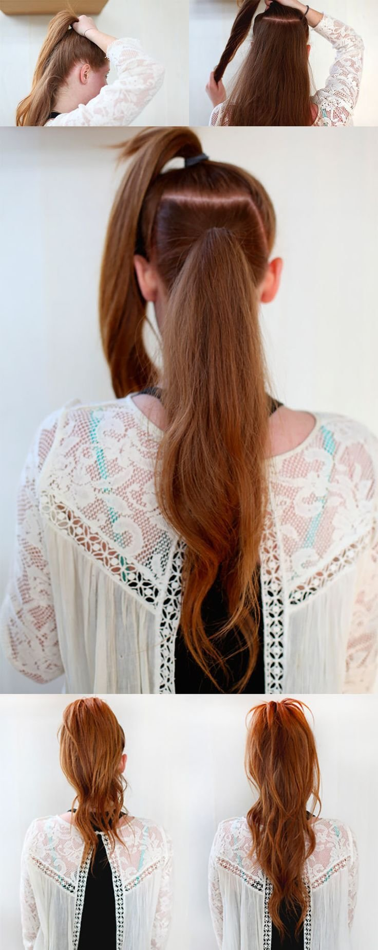 The Best Best 25 Long Ponytail Hairstyles Ideas On Pinterest Pictures
