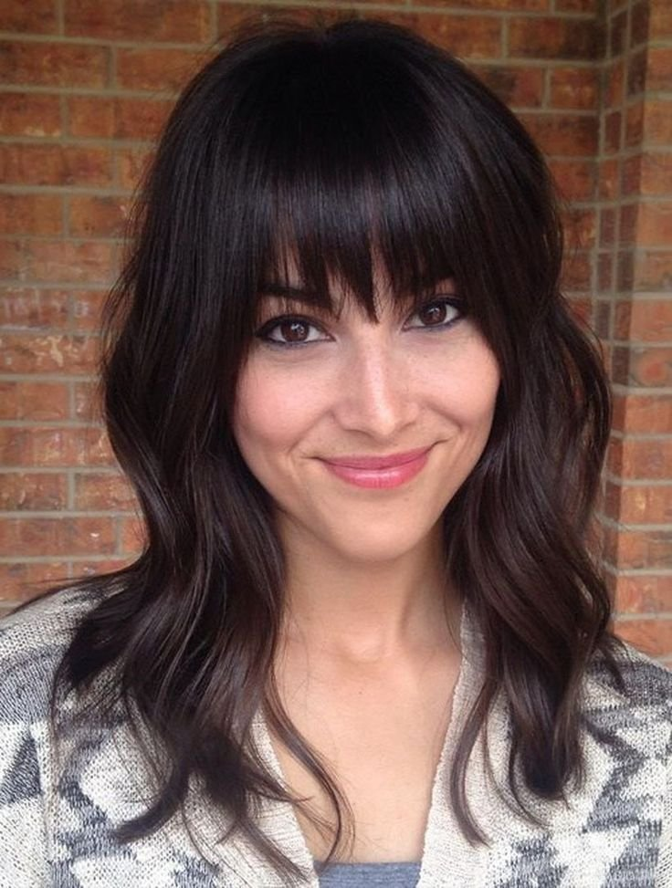 The Best Best 20 Full Fringe Hairstyles Ideas On Pinterest Pictures