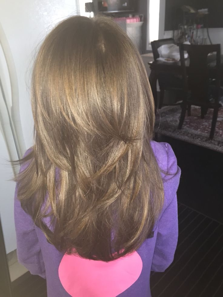 The Best Cool Little Girls Layered Haircut ️ Julie Bug Tame Pictures