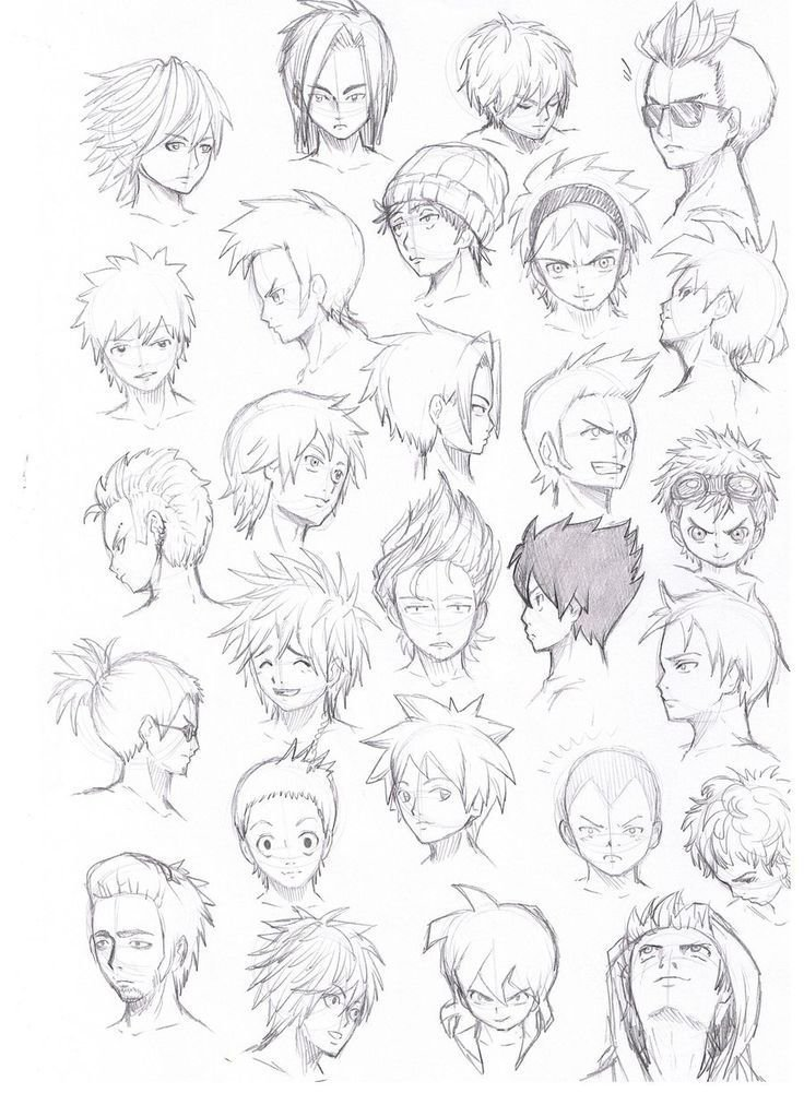 The Best Anime Guy Hairstyles Google Search Character Hair Pictures