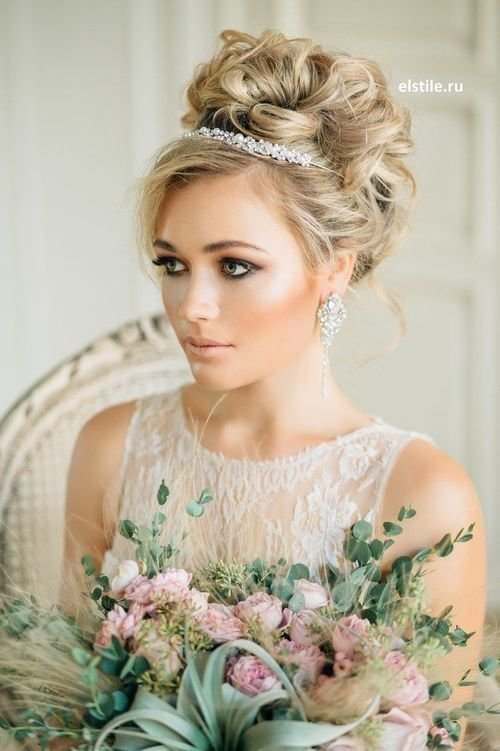 The Best Best 25 Tiara Hairstyles Ideas On Pinterest Wedding Pictures