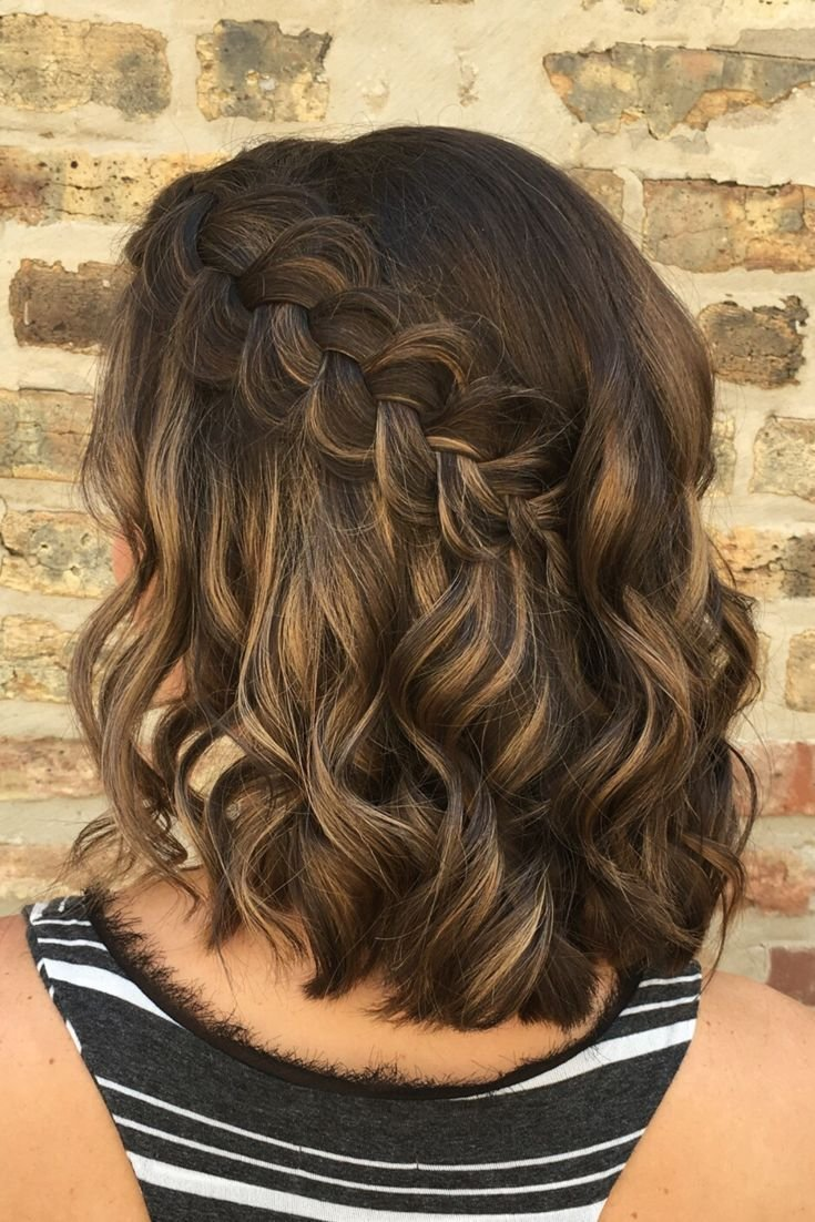 The Best How Perfect Is This Simple Elegant Braided Hairstyle Pictures