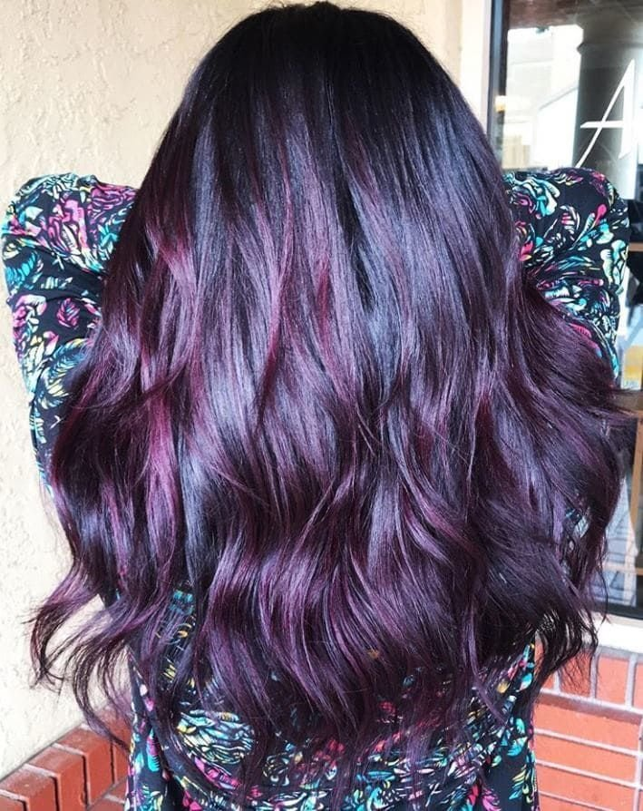 The Best Blackberry Hair Is About To Be This Season S Biggest Trend Pictures