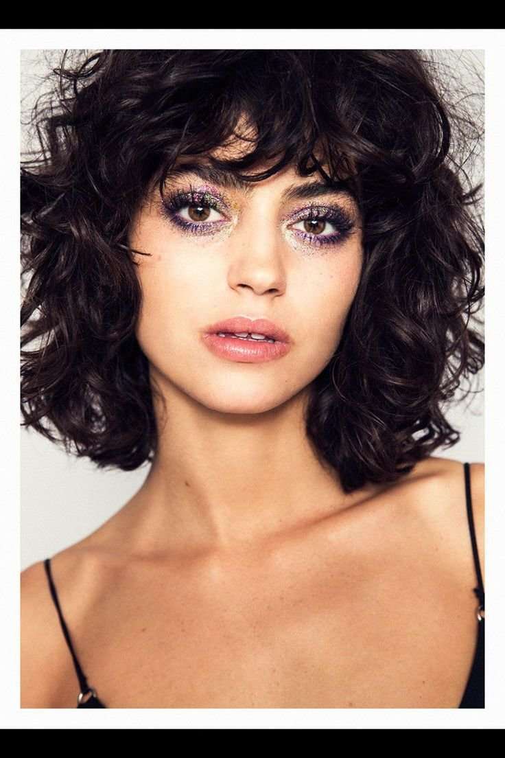 The Best Best 25 Curly Bob Bangs Ideas On Pinterest Short Wavy Pictures