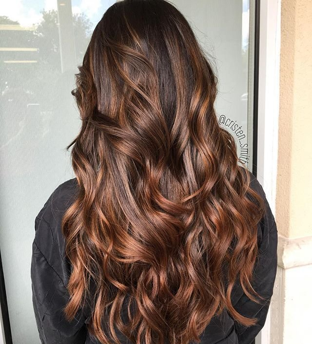 The Best Caramel Mocha Balayage ☕️ Hairstyles Aveda Hair Hair Pictures