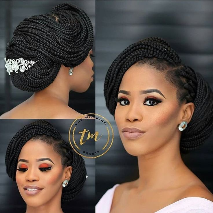 The Best Braided Brides Will Be A Hit This Year Love This Look On Pictures