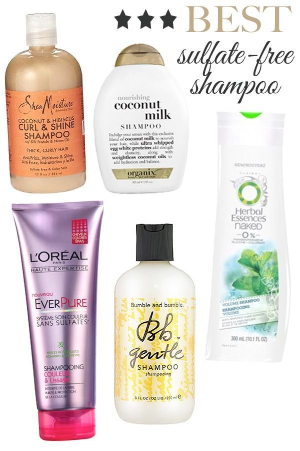 The Best Best 25 Sulfate Free Shampoo Ideas On Pinterest Sulfate Pictures