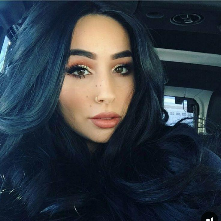 The Best Best 25 Blue Tinted Hair Ideas On Pinterest Blue Black Pictures