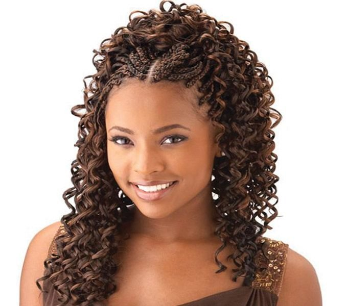 The Best Cornrow With Curly Weave Curly Braids For Your Hair Pictures