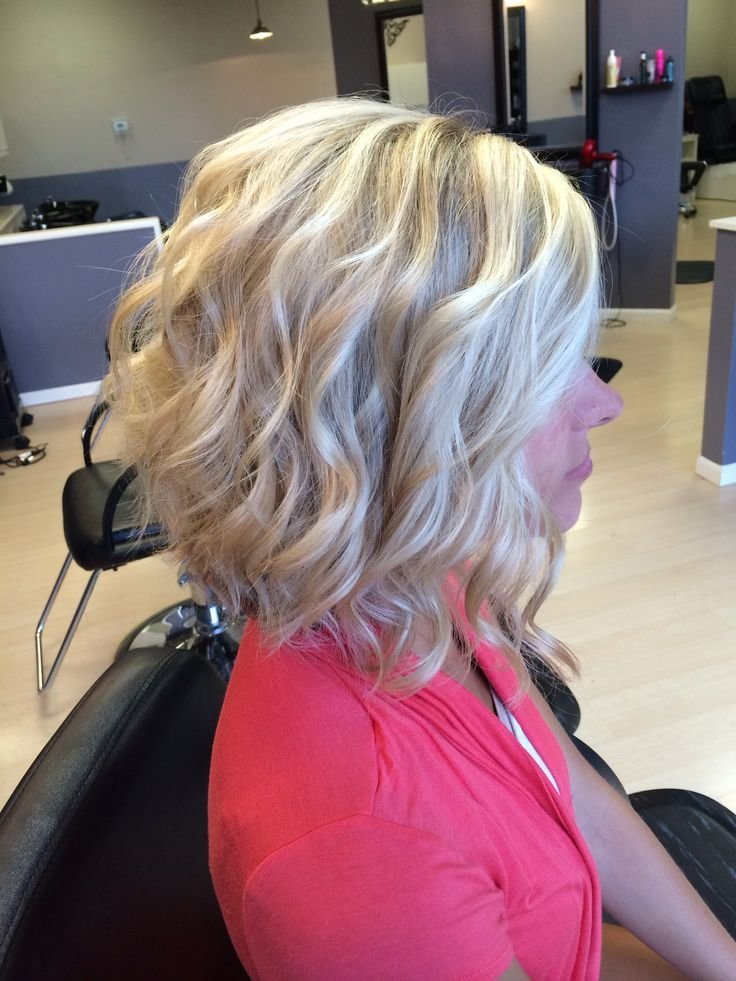 The Best Best 25 Curly Stacked Bobs Ideas On Pinterest Short Pictures