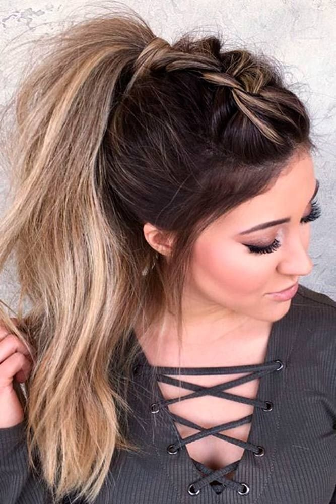 The Best 59 Easy Ponytail Hairstyles For School Ideas Hairstylest Pictures