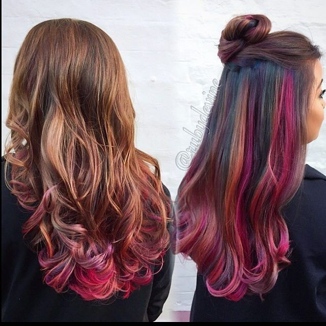 The Best 90 Best Fantasy Hair Color And Hair Cuts Images On Pictures
