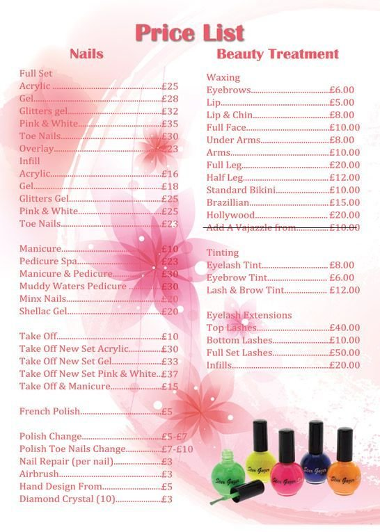 The Best Best 25 Nail Salon Prices Ideas On Pinterest Nail Pictures