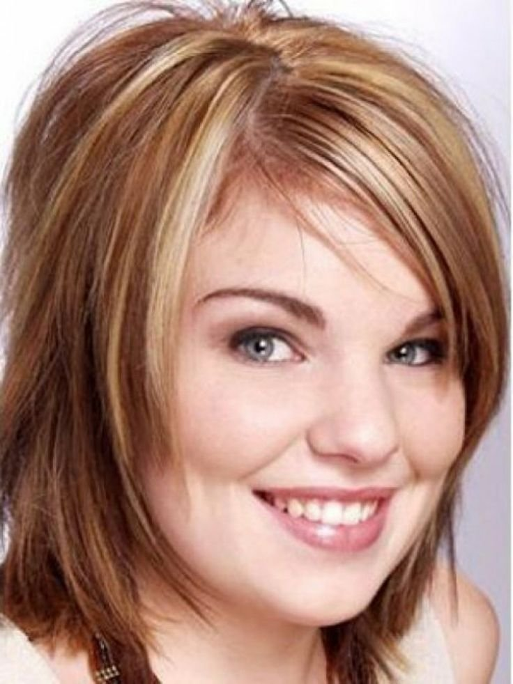 The Best Cute Short Hairstyles For Fat Round Faces Hairstyles Pictures