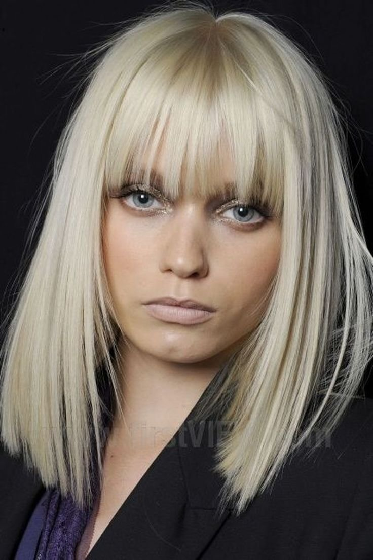 The Best Best 25 Full Fringe Hairstyles Ideas On Pinterest Bob Pictures