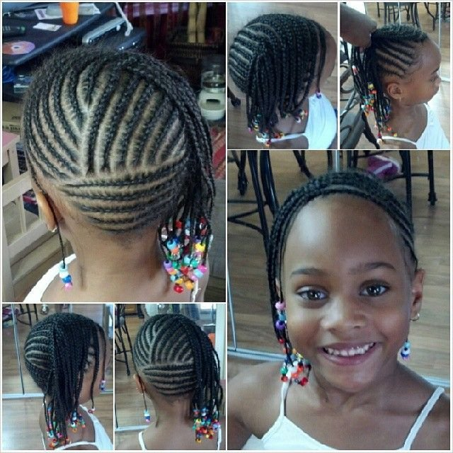 The Best Love The Design In The Back Multidirectional Cornrows Pictures
