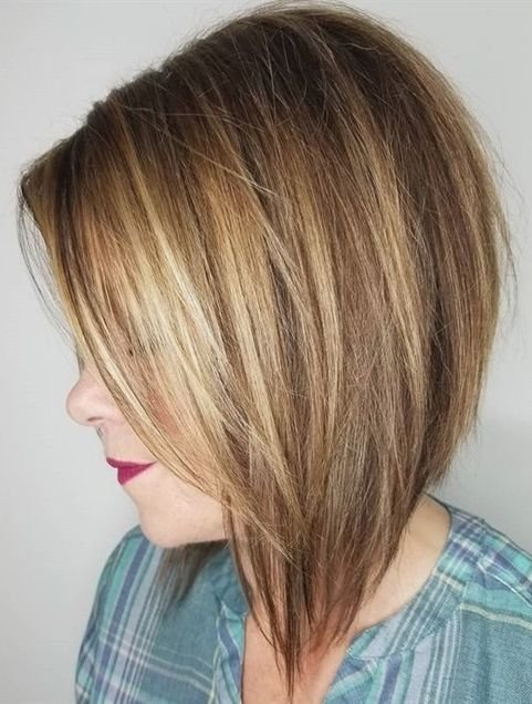 The Best Steeply Angled Layered Bob Hairstyles Ideas For 2018 Pictures