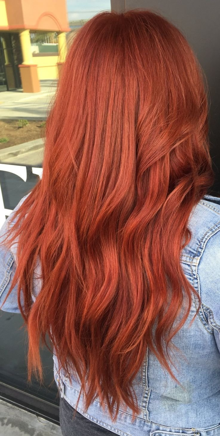 The Best Copper Red Hair Using Redken Color All The Hairgoals In Pictures