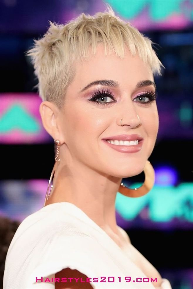 The Best Katy Perry Hairstyles For Short Hair Short Hairstyles 2018 2019 Trends Shorthair Pictures