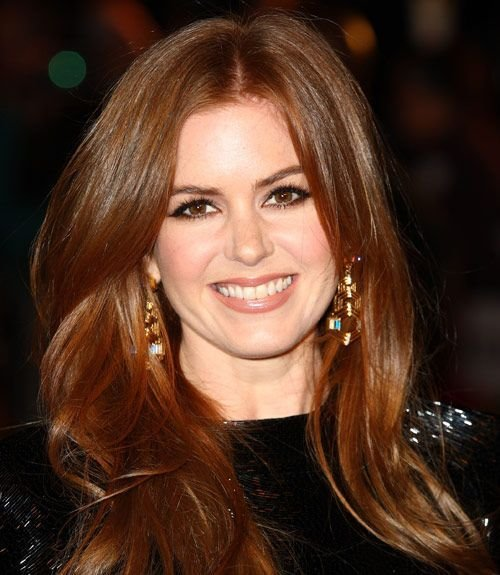 The Best 35 Long Hairstyles From Celebrities We Love Isla Fisher Pictures