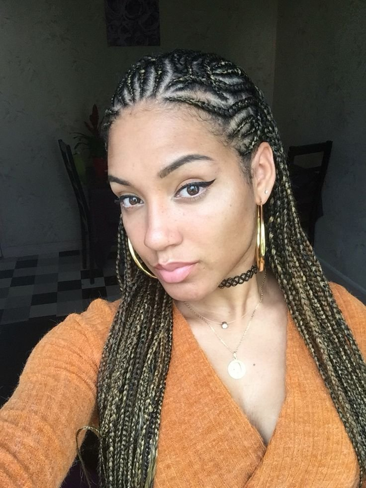 The Best Alicia Keys Inspired Look Cornrows Braids … Natural Hair Pictures
