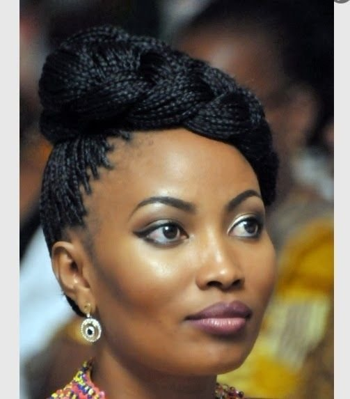 The Best 10 Incredible Black Braided Hairstyles For Parties Pictures