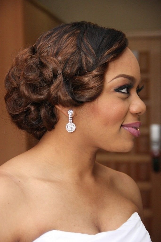 The Best 20 Wedding Hairstyles For Black Women Ideas Wedding Pictures