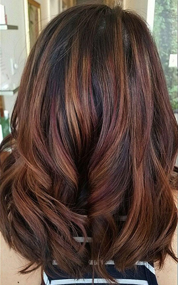 The Best Hair Color 2018 Cool Hair Color Ideas To Try In 2018 Pictures