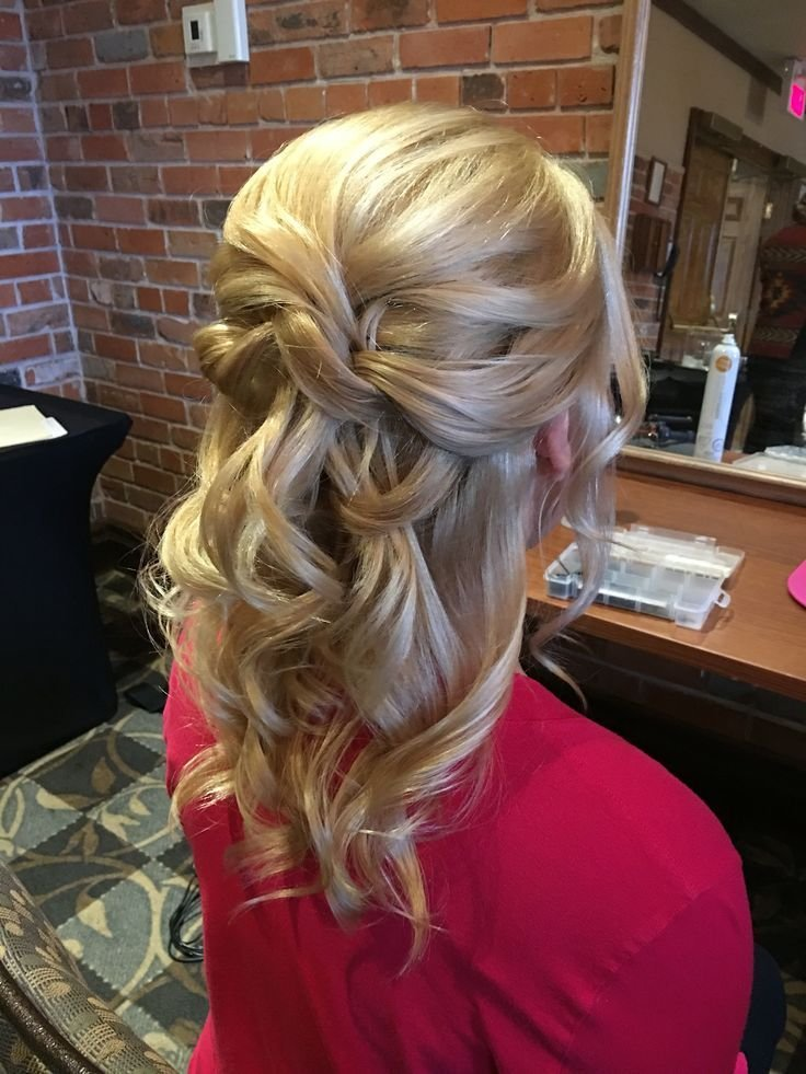 The Best Half Up Half Down Wedding Hair For Bride Or Mother Of The Pictures