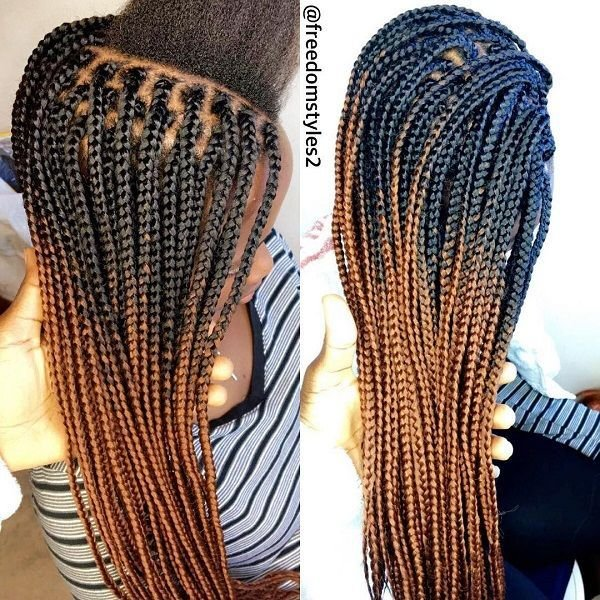 The Best 15 Box Braids Colors Styles For Summer Fun 2017 Pictures