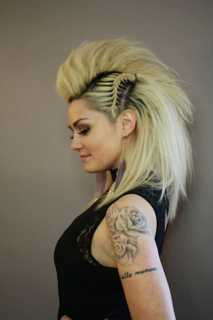 The Best Best 25 Faux Mohawk Ideas On Pinterest French Braid Pictures