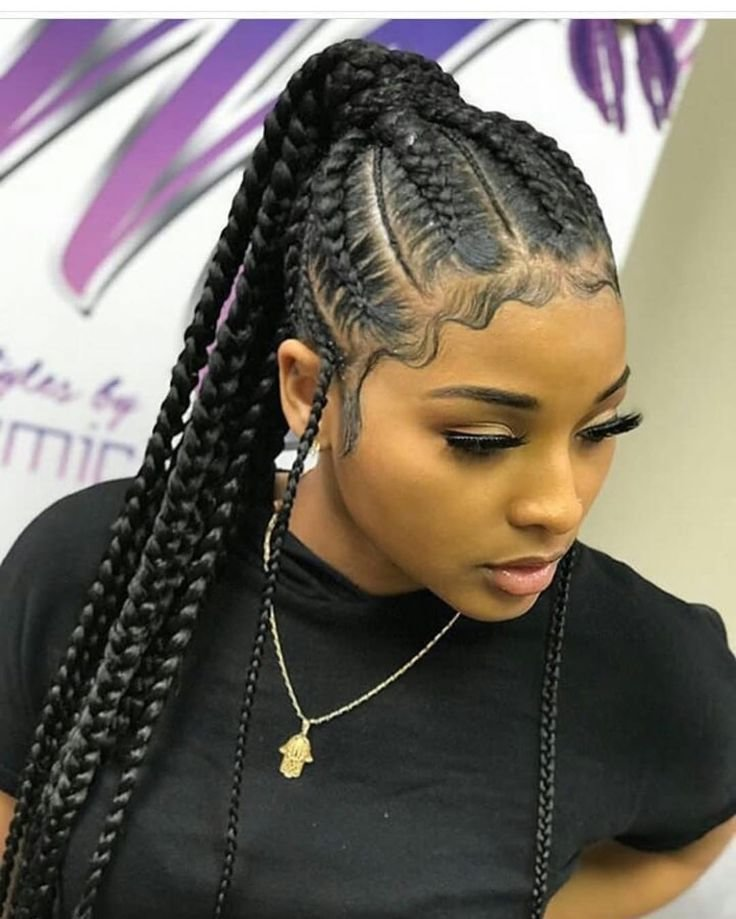 The Best Pin By Darline On Braids Braids For Black Hair Braided Pictures