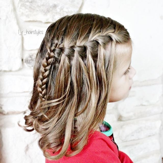 The Best Little Girl French Braid Hairstyles Hair Pictures