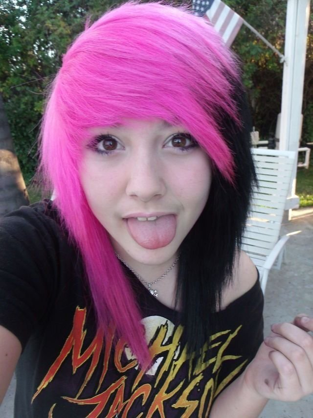 The Best 54 Best Pink And Black Hair Pictures