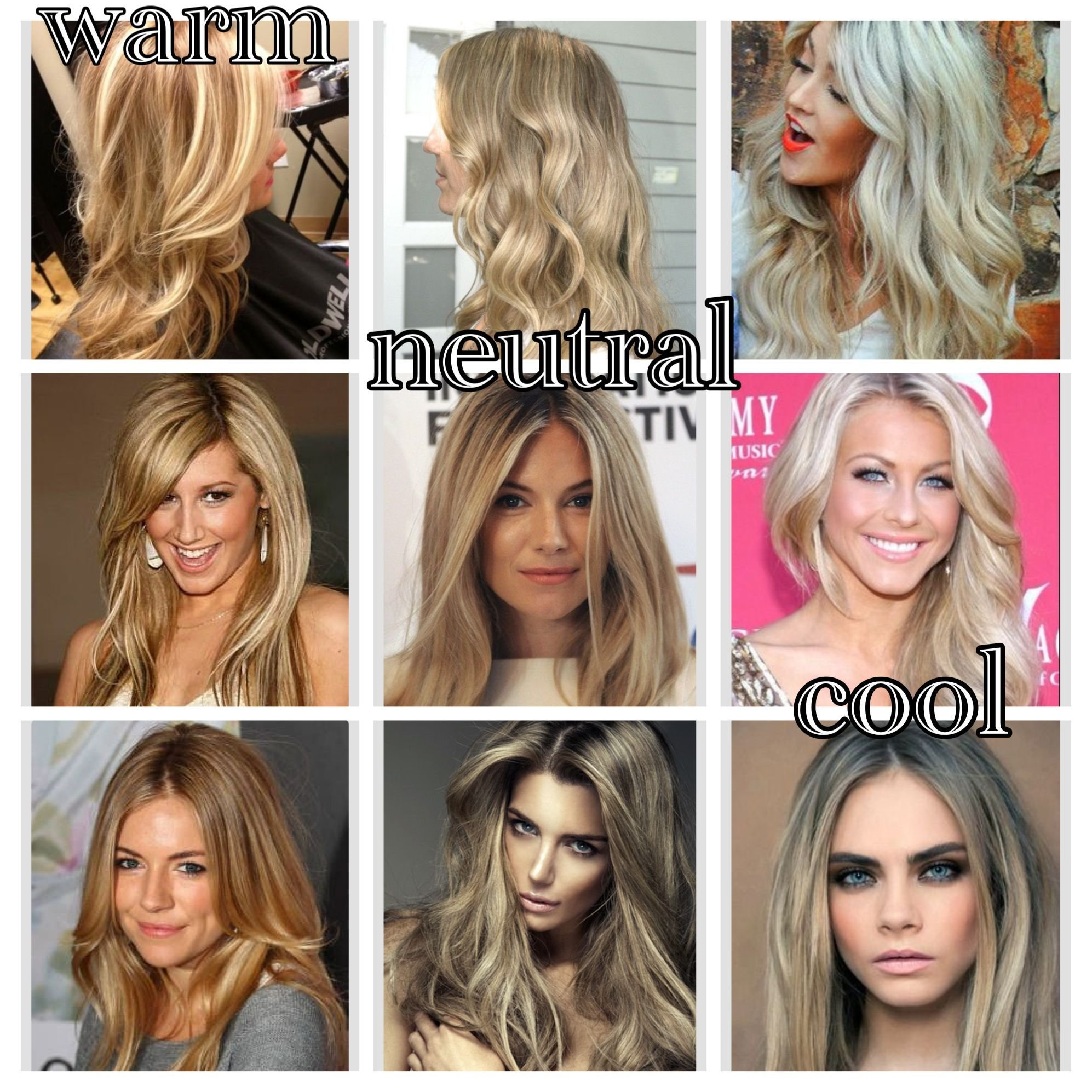 The Best The Difference Between Warm Neutral And Cool Blonde Tones Pictures