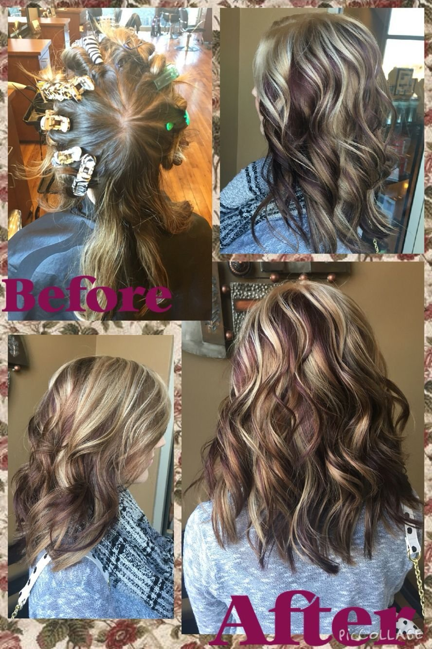 The Best Pinwheel Hair Color I Did At The Salon Today Must Say I Am Pretty Proud Of Myself Hairstyles Pictures